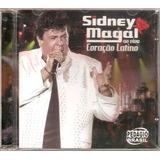 Cd   Sidney Magal   Coração Latino Ao Vivo