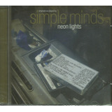 Cd   Simple Minds   Neon Lights   Lacrado