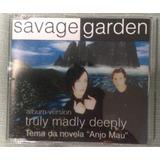 Cd   Single Savage Garden   Truly Madly Deeply   Novo