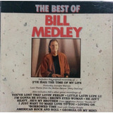Cd   The Best Of Bill Medley   Sebo Refúgio Cultural