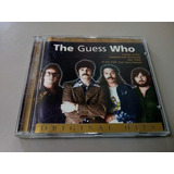 Cd   The Guess Who   The Best Of    Hits  Made In Belgium
