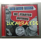 Cd   The Ting Tings   We Started Nothing   Lacrado   Promoci