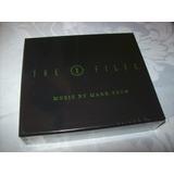 Cd   The X files   Mark Snow   Volume Two   Box Set  lacrado