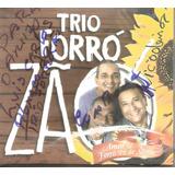Cd   Trio Forrozao   Amor E Forro Pe De Serra   Autografado