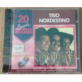 Cd   Trio Nordestino   20 Super Sucessos   Promo   Lacrado
