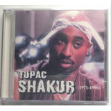 Cd   Tupac Shakur  1971  1996   Rip Shakur   Importado  Novo