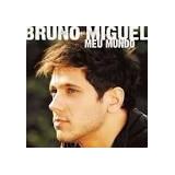 Cd  Bruno Miguel      Meu Mundo    b198