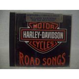 Cd  Duplo Harley Davidson  Road Songs