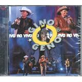 Cd  Gino E Geno   Ao Vivo Cd 1