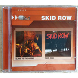 Cd  Skid Row 1   Slave To The Grind Duplo Frete Grátis