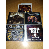 Cd 5x Cypress Hill Lote Importado Black Sunday The Best Film
