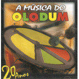 Cd A Música Do Olodum   20 Anos   Novo