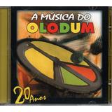 Cd A Música Do Olodum   20 Anos