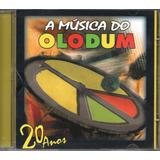 Cd A Música Do Oludum   20 Anos