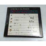 Cd A Música Em Pessoa Arrigo Barnabé Milton Nascimento 2002