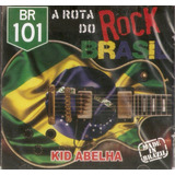 Cd A Rota Do Rock Brasil   Kid Abelha   Novo Lacrado