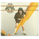 Cd Ac dc   High Voltage   Digipack Lacrado   Sony
