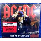Cd Ac Dc Live At River Plate Original Duplo Pronta Entrega