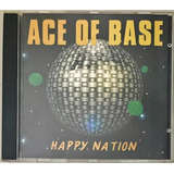 Cd Ace Of Base Happy Nation 1992 Bmg   B7