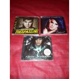 Cd Adam Lambert   Trespassing Combo Com 3 Cds