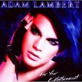 Cd Adam Lambert  For Your Entertainment