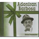 Cd Adoniran Barbosa   Série Presentes Grandes Sucessos