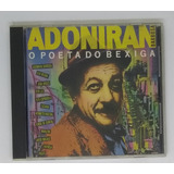 Cd Adoniran Barbosa O Poeta Do Bexiga   Seminovo