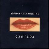 Cd Adriana Calcanhotto   Cantada