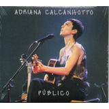 Cd Adriana Calcanhotto   Público   Capa Pac
