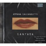 Cd Adriana Calcanhotto Cantada Feat Los Hermanos 2002 Lacrdo