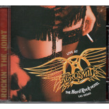 Cd Aerosmith   Rockin the Joint  Live At Las Vegas