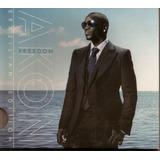 Cd Akon  Freedon  Brazilliam Edition