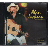 Cd Alan Jackson   The Country Man Live Classic Performace