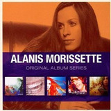 Cd Alanis Morissette Original Album Series Box 5 Cds Lacrado