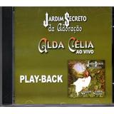 Cd Alda Célia   Jardim Secreto Ao Vivo    Playback