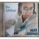 Cd Alex Gonzaga   Vou Continuar   Original