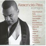 Cd Alexandre Pires E Amigos 2010 Caetano Alcione Gil Sangalo
