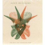 Cd Alice In Chains   The Devil Put Dinosaurs Here