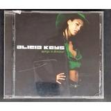 Cd Alicia Keys Songs In Aminor   Seminovo