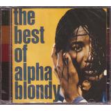 Cd Alpha Blondy The Best Of Novo Original Lacrado