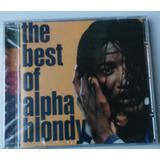Cd Alpha Blondy The Best Of Reggae Lacrado De Fábrica
