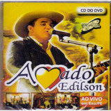 Cd Amado Edilson   Ao Vivo Cd Do Dvd