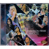 Cd Anderson Freire E Amigos   Com 4 Play Backs   Novo