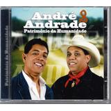 Cd André E Andrade   Patrimônio Da Humanidade