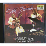 Cd Andre Previn   Mundell Lowe & Ray Brown   Old Friends