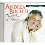 Cd Andrea Bocelli   Greatest Hits   The Music Of Silence