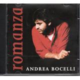 Cd Andrea Bocelli   Romanza