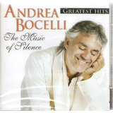 Cd Andrea Bocelli   The Music Of Silence