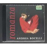 Cd Andrea Bocelli Romanza   Original Seminovo
