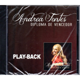 Cd Andrea Fontes   Diploma De Vencedor   Play back